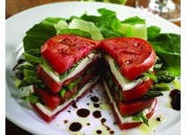 Summer Local Grown Tomato Caprese Salad