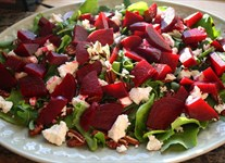 Beet Salad with a Twist using Our Products