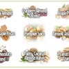 We select 4 from a variety of 9 delicious flavors in ¼ Pound sizes