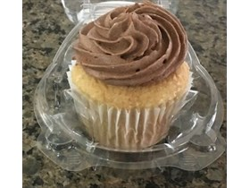 Coffee Mocha Frosted Cupcake